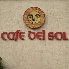 Photo taken at Cafe Del Sol by Jen F. on 5/28/2013