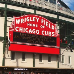 Photo taken at Wrigley Field by David M. on 7/19/2013