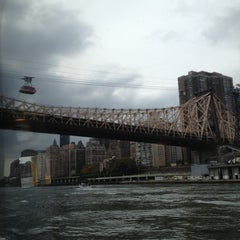 Photo taken at Roosevelt Island Tram by Kendra B. on 10/27/2012
