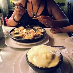 "Photo taken at Restaurant ""La Playa"", El Quisco by Victor R. on 2/6/2014"