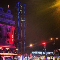 Photo taken at Galeries Lafayette Montparnasse by Emanuele S. on 4/2/2013