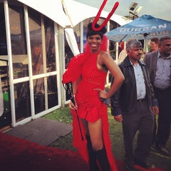Photo taken at Greyville Racecourse by Theuns S. on 7/7/2013