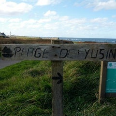 Photo taken at Plage de Yusin by Pierre-Yves M. on 11/6/2012