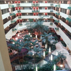 Photo taken at Embassy Suites by Hilton Tampa USF Near Busch Gardens by Colby H. on 1/1/2013