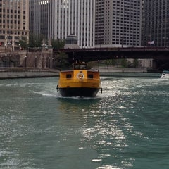 Photo taken at Chicago Water Taxi (Michigan) by Michael B. on 11/1/2012