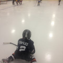 Photo taken at Raleigh Center Ice by Adam S. on 5/12/2013