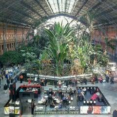 Photo taken at Estación de Madrid-Puerta de Atocha by Mauro F. on 2/13/2013