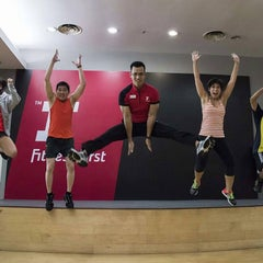 Photo taken at Fitness First Platinum by Yusuf H. on 2/3/2016