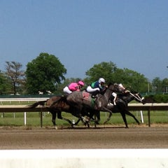 Photo taken at Monmouth Park Racetrack by Lisa F. on 6/1/2013