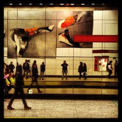 Photo taken at Metro Los Héroes by Johny A. on 5/12/2013