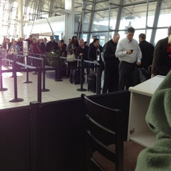 Photo taken at TSA Terminal E Security by Geoff S. on 11/12/2012
