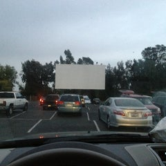 Photo taken at Mission Tiki Drive-In Theatre by RUBEN U. on 4/6/2013