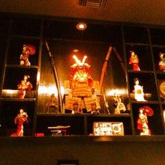 Photo taken at Mikato Japanese Steakhouse by Ian E. on 12/25/2013