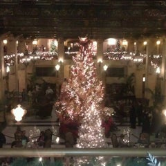 Photo taken at The Davenport Hotel Tower by Alex H. on 12/5/2012