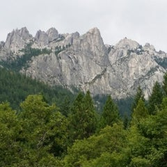 Photo taken at Castle Crags State Park by Rachel F. on 7/27/2014