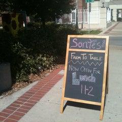 Photo taken at Söntés Restaurant & Wine Bar by Jamie P. on 9/21/2012