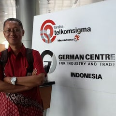Photo taken at German Centre by Wahyu N. on 3/6/2015