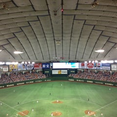 Photo taken at 東京ドーム (Tokyo Dome) by Masaru S. on 6/5/2013
