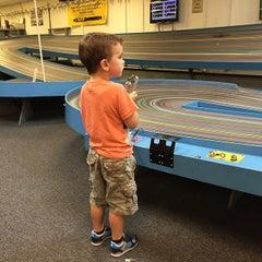 Photo taken at Motown Raceway by Jerad H. on 9/20/2014