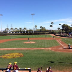Photo taken at Packard Baseball Stadium by Zach S. on 2/15/2014