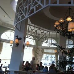 Photo taken at Grand Floridian Café by Sergio on 12/23/2012