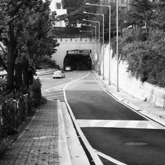 Photo taken at 남산3호터널 (Namsan Tunnel 3) by Jessica I. on 8/12/2015