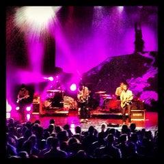 Photo taken at Gibson Amphitheatre by Pete B. on 10/3/2012