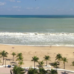 Photo taken at Courtyard by Marriott Fort Lauderdale Beach by Bruce S. on 10/28/2012