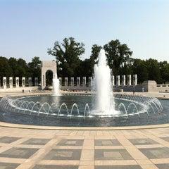 Photo taken at World War II Memorial by David B. on 8/12/2013