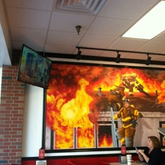 Photo taken at Firehouse Subs by Mack J. on 1/28/2014