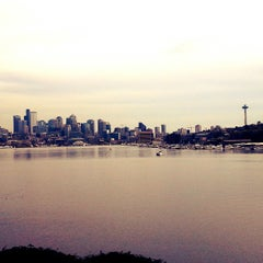 Photo taken at Gas Works Park by Christina D. on 4/4/2013