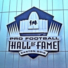 Photo taken at Pro Football Hall of Fame by Jerome E. on 4/12/2013