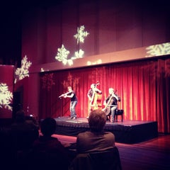 Photo taken at The Max M. Fisher Music Center by meredith k. on 12/13/2012