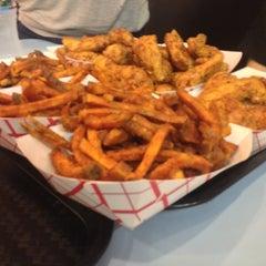 Photo taken at BonChon Chicken by John E. on 10/20/2012