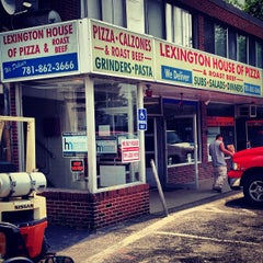 Photo taken at Lexington House of Pizza by Ben H. on 6/22/2013