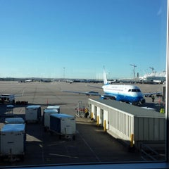 Photo taken at Gate B60 by Christopher B. on 10/23/2013