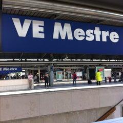 Photo taken at Stazione Venezia Mestre by Yoco M. on 5/22/2013
