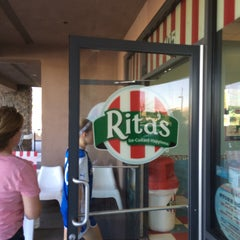 Photo taken at Rita's Italian Ice by Kevin B. on 2/7/2015
