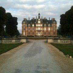 Photo taken at Chateau de la Trousse by Bernie W. on 9/18/2012