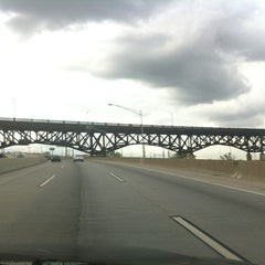 Photo taken at General Pulaski Skyway by WereFox A. on 7/2/2013