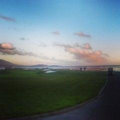 Photo taken at Pebble Beach Golf Links by Gyan on 6/21/2013