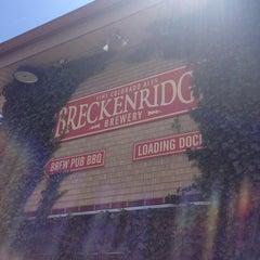 Photo taken at Breckenridge Brewery & BBQ by Angela C. on 7/13/2013
