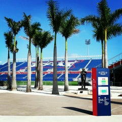 Photo taken at FAU Football Stadium by Cody R. on 1/10/2013