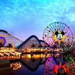 Photo taken at Disney California Adventure by Alaa A. on 3/25/2013