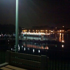 Photo taken at Friendship Boat Dock - Disney's Hollywood Studios by Hunter B. on 1/9/2013