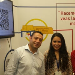 Photo taken at Bancolombia Dirección General by Mauricio M. on 10/15/2014