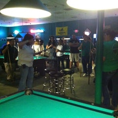 Photo taken at The Billiard Den by Sandy G. on 10/10/2012