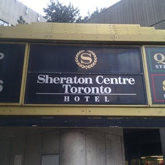 Photo taken at Sheraton Centre Toronto Hotel by Alexander R. on 3/28/2013
