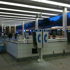 Photo taken at Bathurst Subway Station by Alexander R. on 11/10/2013