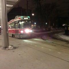 Photo taken at Bathurst Subway Station by Alexander R. on 1/3/2013